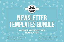 14 Email Newsletter Templates Bundle by  in Campaign Monitor