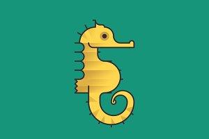 Simply Animals / Seahorse