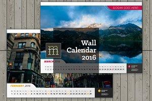 Wall Calendar 2016 (WC10)