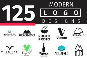 125 Modern Logo Designs