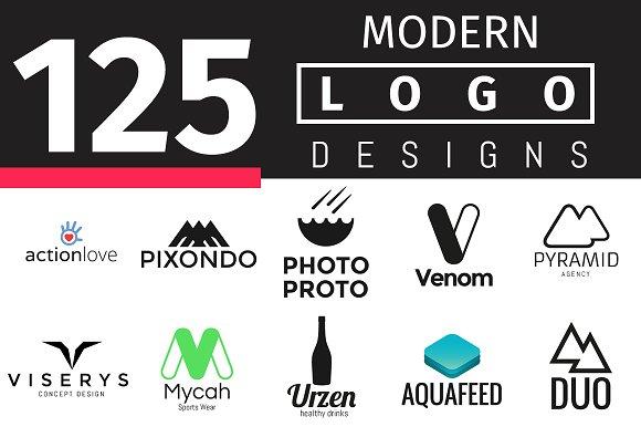 125 modern logo designs logo templates on creative market
