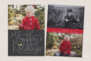 Christmas Card Template CC030