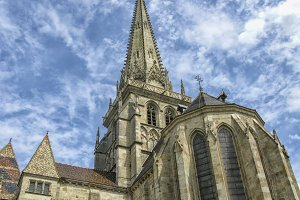 Cathedral in Autun