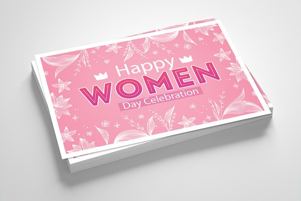 Happy Women's Day Event Card