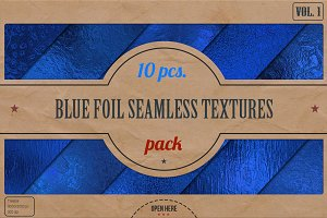 Blue Foil HD Textures Pack v.1