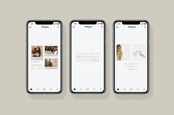 Purity Social Media Pack in Instagram Templates - product preview 2