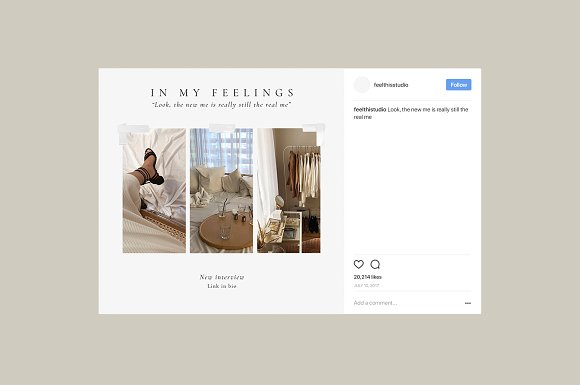 Purity Social Media Pack in Instagram Templates - product preview 9