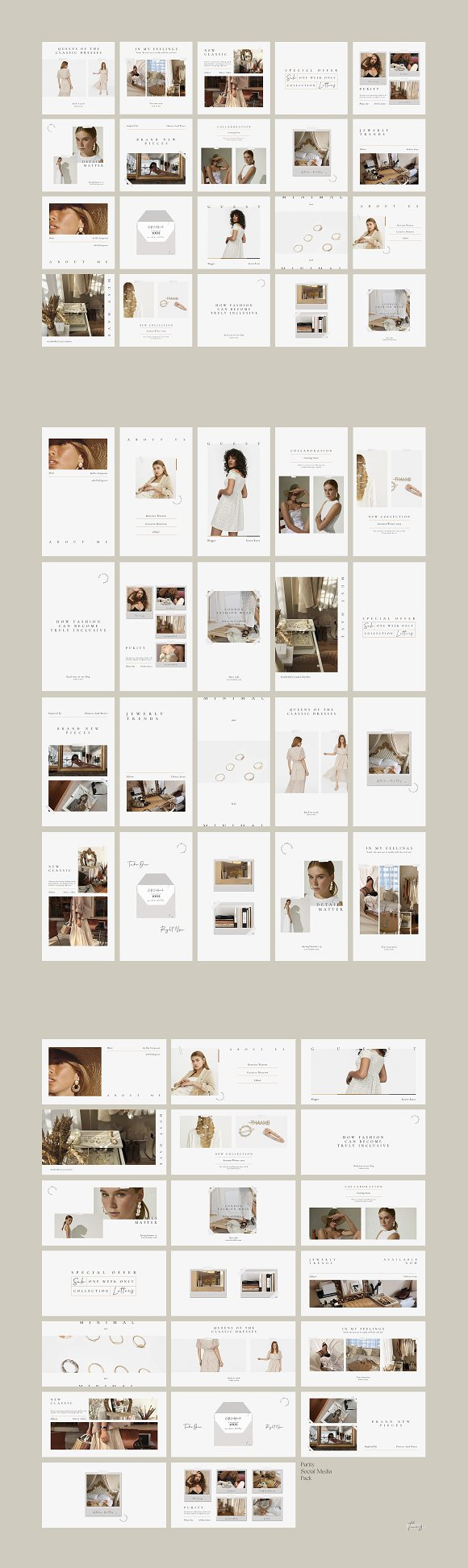 Purity Social Media Pack in Instagram Templates - product preview 13