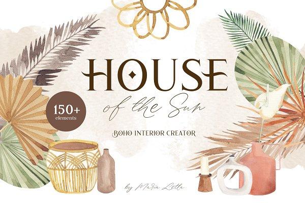 House of the Sun ✦ boho creator