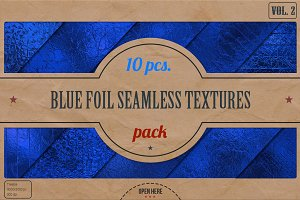 Blue Foil HD Textures Pack v.2