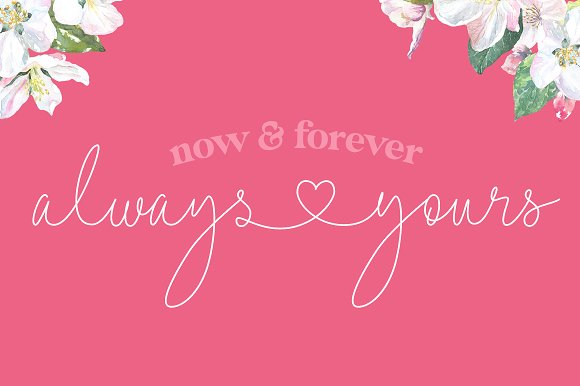 Lovers Script Font Family in Script Fonts - product preview 11