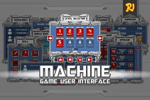 Machine Game UI Art Pack