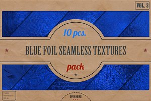 Blue Foil HD Textures Pack v.3