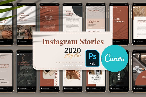 Instagram Stories Template - 2020 in Instagram Templates - product preview 4