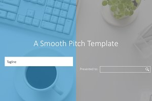 A Smooth Pitch Template