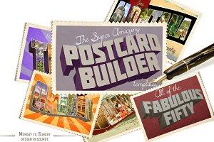 Vintage Postcard Builder