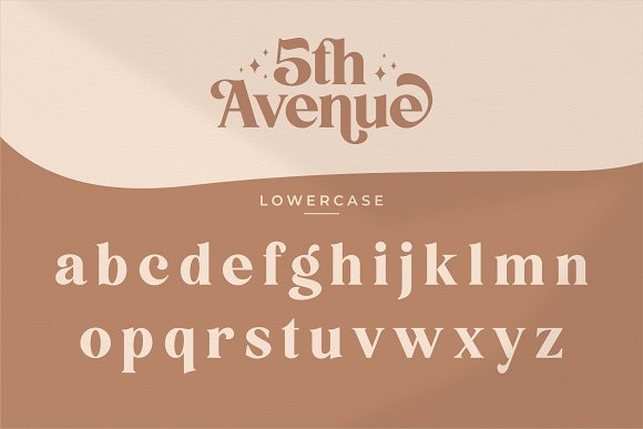 5th Avenue - 25% OFF in Serif Fonts - product preview 27