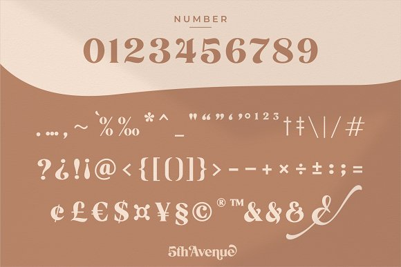 5th Avenue - 25% OFF in Serif Fonts - product preview 30