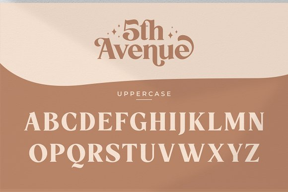 5th Avenue - 25% OFF in Serif Fonts - product preview 31