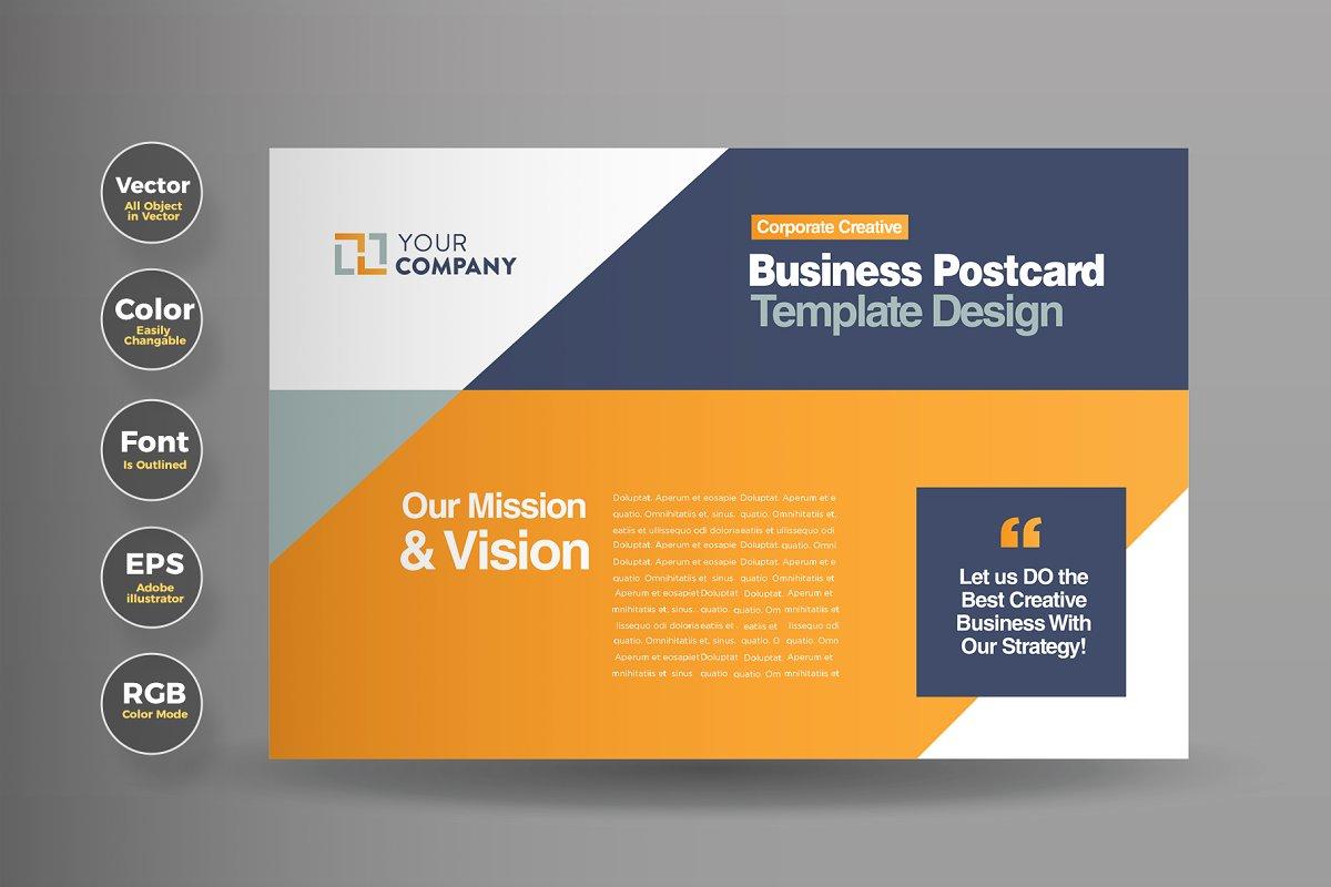 Business Mail EDDM Postcard Design