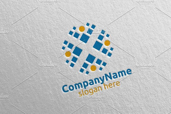Health Care Cross Medical Logo 62 in Logo Templates - product preview 3