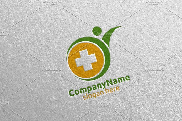 Health Care Cross Medical Logo 63 in Logo Templates - product preview 1
