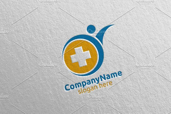 Health Care Cross Medical Logo 63 in Logo Templates - product preview 2