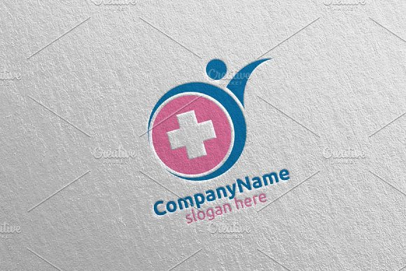Health Care Cross Medical Logo 63 in Logo Templates - product preview 3