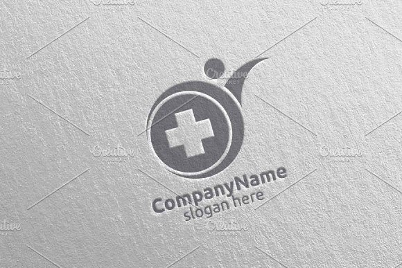 Health Care Cross Medical Logo 63 in Logo Templates - product preview 4
