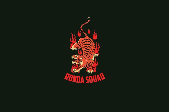 Ronda Squad Logo Template in Logo Templates - product preview 1
