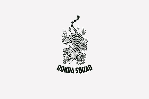 Ronda Squad Logo Template in Logo Templates - product preview 2