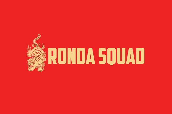Ronda Squad Logo Template in Logo Templates - product preview 3