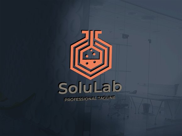 Solution Lab Logo in Logo Templates - product preview 1