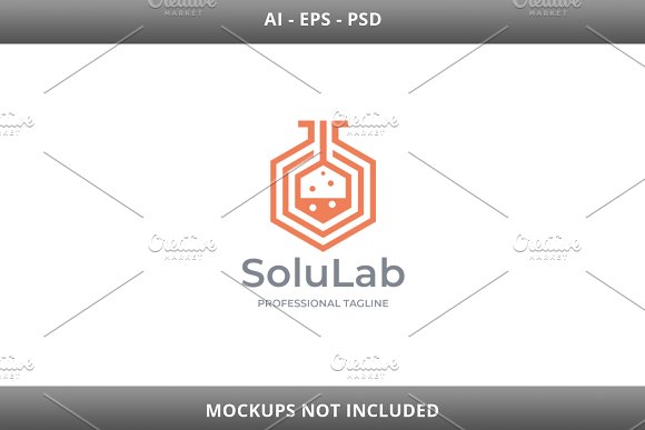 Solution Lab Logo in Logo Templates - product preview 2