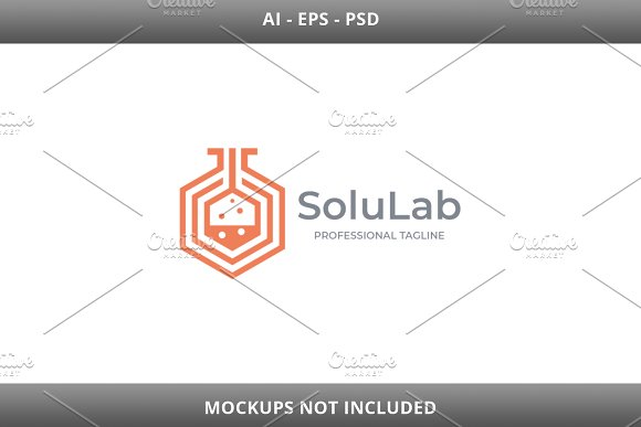 Solution Lab Logo in Logo Templates - product preview 3