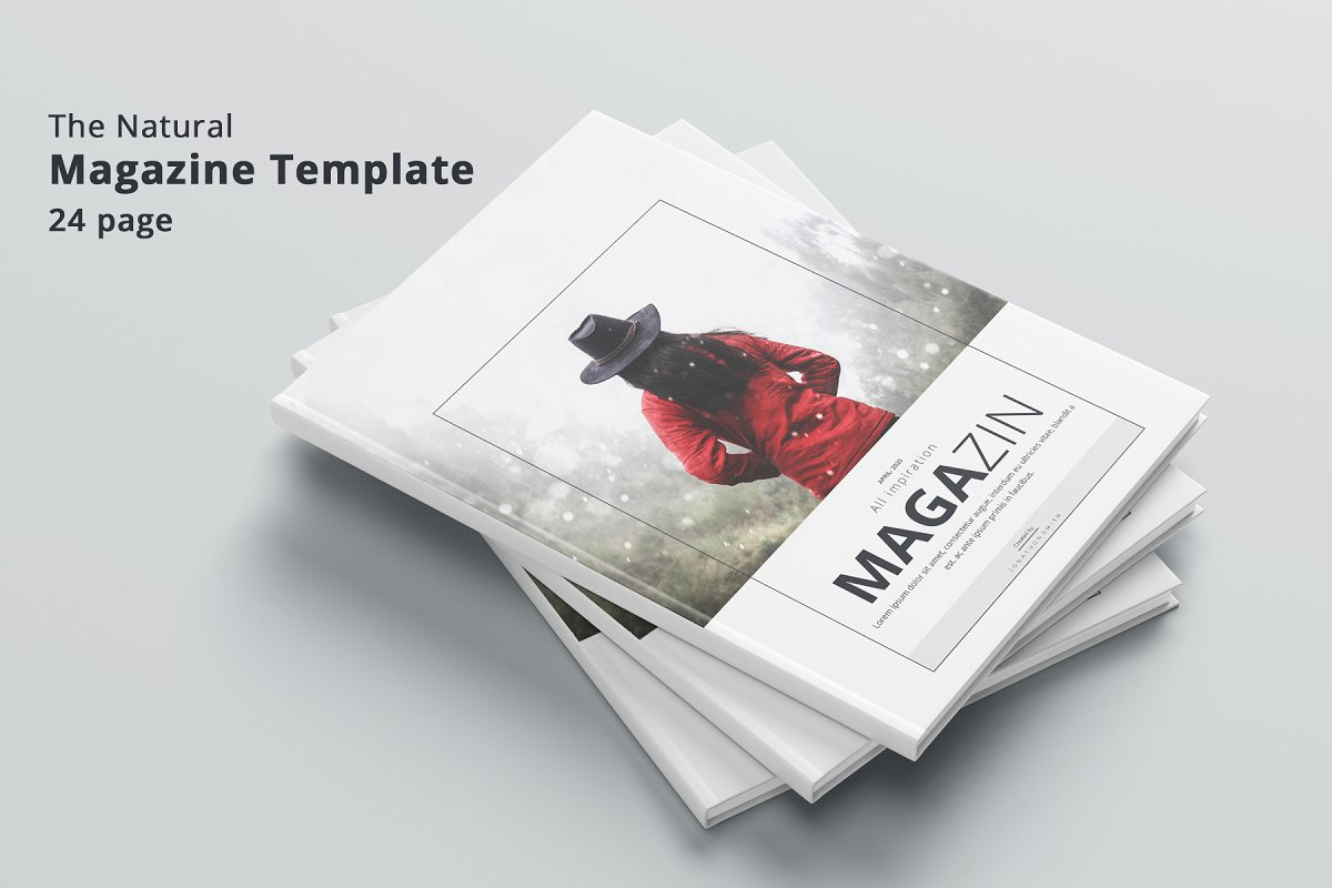 Magazine in Magazine Templates - product preview 8