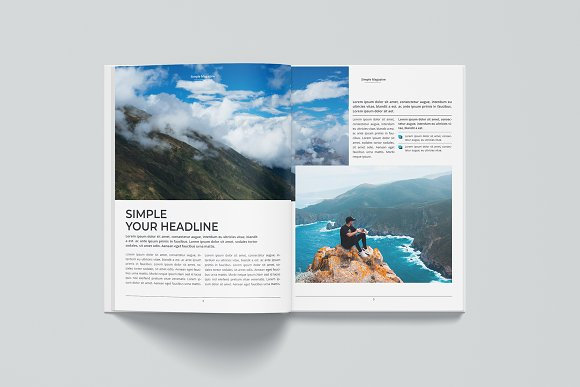Magazine in Magazine Templates - product preview 2