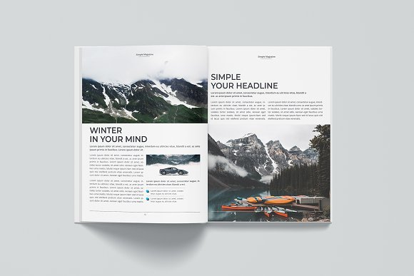 Magazine in Magazine Templates - product preview 6