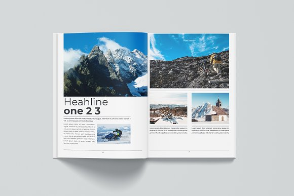Magazine in Magazine Templates - product preview 10