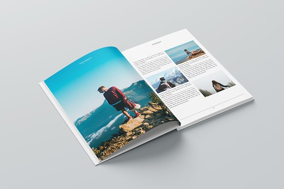 Magazine in Magazine Templates - product preview 11