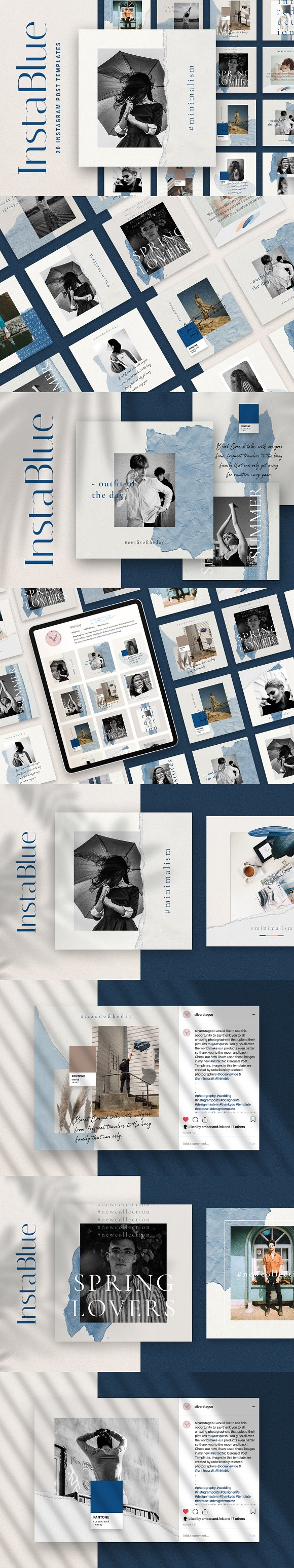Ultimate Instagram Bundle + Updates in Instagram Templates - product preview 23