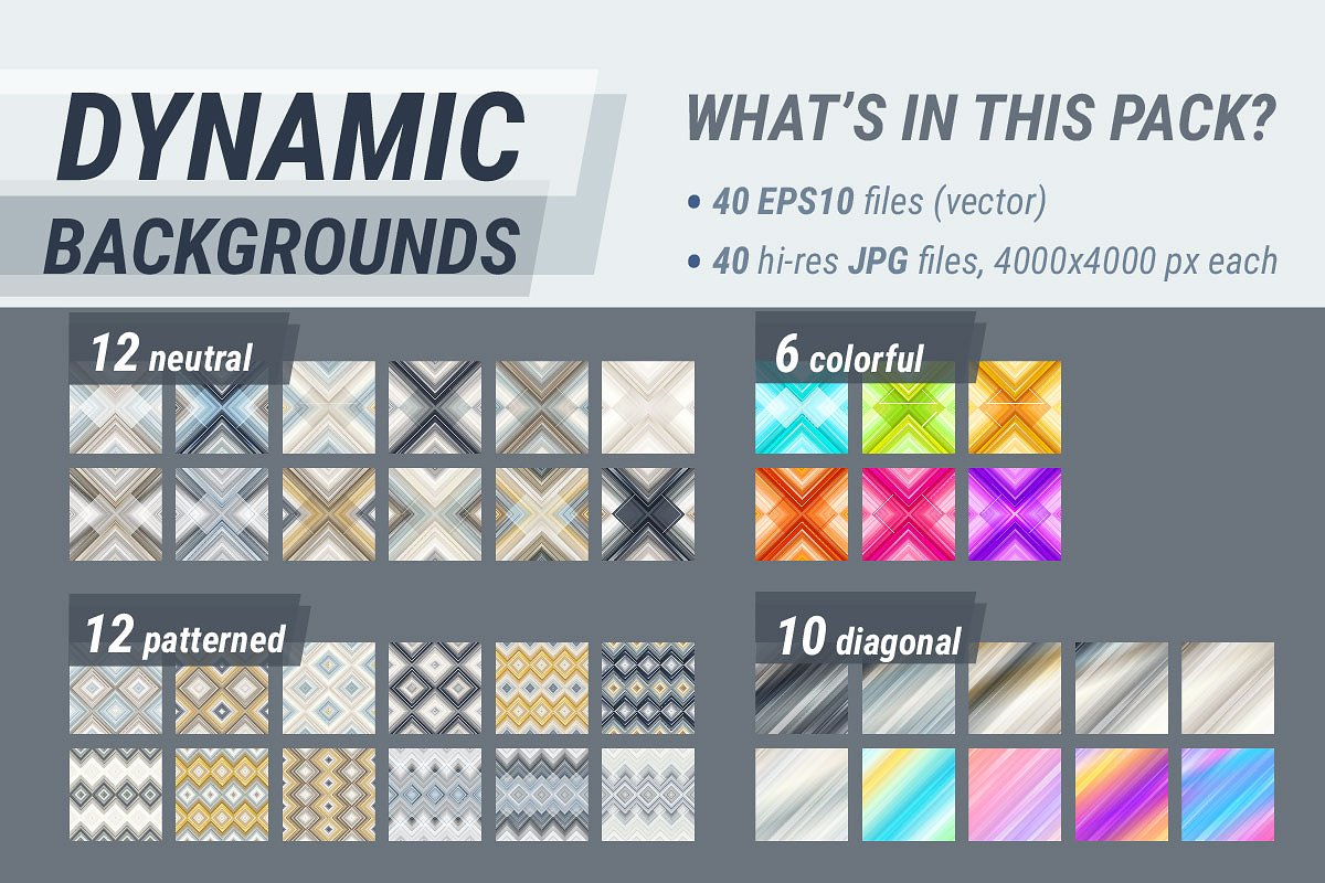 Dynamic Backgrounds, MEGA pack in Textures - product preview 8