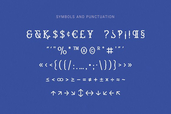 Wiley Decorative Latin & Greek Font in Display Fonts - product preview 11