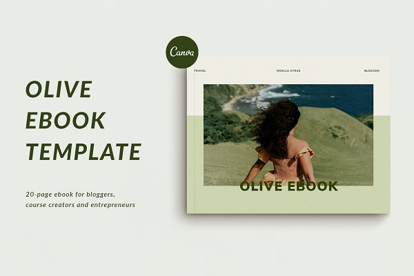 Canva Ebook for Bloggers | Olive