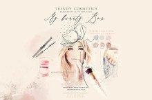 """BEAUTY BOX"" trendy graphics"