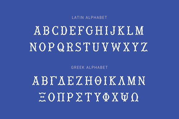 Wiley Decorative Latin & Greek Font in Display Fonts - product preview 15