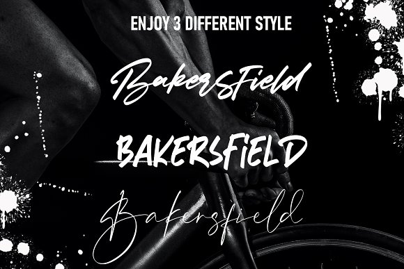 Bakersfield | 3 Font Combination in Script Fonts - product preview 8