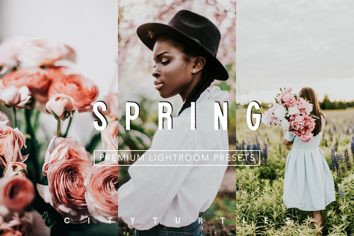 Vibrant SPRING Lightroom Presets in Add-Ons - product preview 8