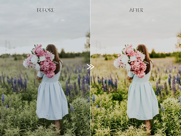 Vibrant SPRING Lightroom Presets in Add-Ons - product preview 3