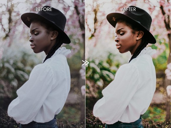 Vibrant SPRING Lightroom Presets in Add-Ons - product preview 4